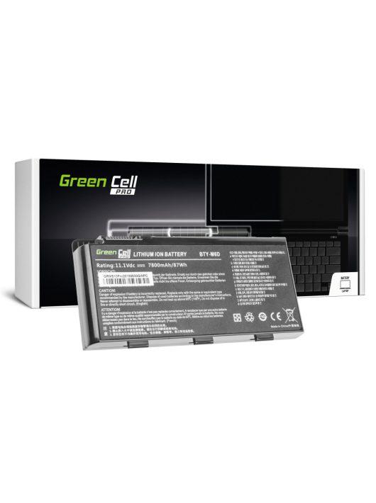 Pro akkumulátor / akku BTY-M6D  laptop MSI GT60 GT70 GT660 GT680 GT683 GT780 GT783 GX660 GX680 GX780
