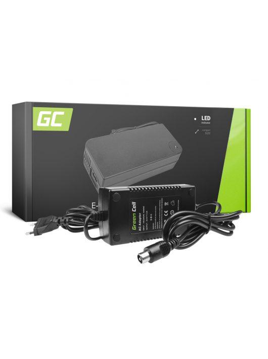 Green Cell 24V Elektromos kerékpár töltő 29.4V 2A (RCA) akkumulátor / akkuhoz