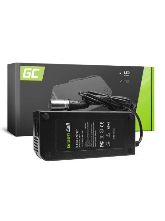 Green Cell 48V Elektromos kerékpár töltő 54.6V 4A (Cannon) akkumulátor / akkuhoz