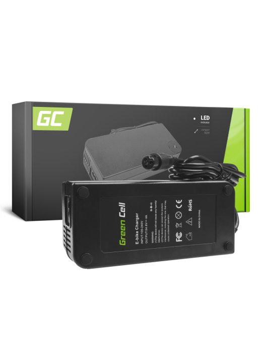 Green Cell 48V Elektromos kerékpár töltő 54.6V 4A (3 pin) akkumulátor / akkuhoz