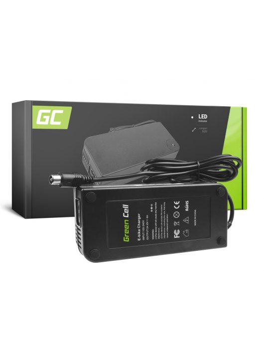 Green Cell 48V Elektromos kerékpár töltő 54.6V 4A (RCA) akkumulátor / akkuhoz