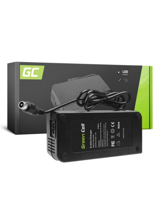 Green Cell 36V Elektromos kerékpár töltő 42V 4A (RCA) akkumulátor / akkuhoz