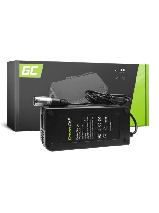 Green Cell 24V Elektromos kerékpár töltő 29.4V 4A (Cannon) akkumulátor / akkuhoz
