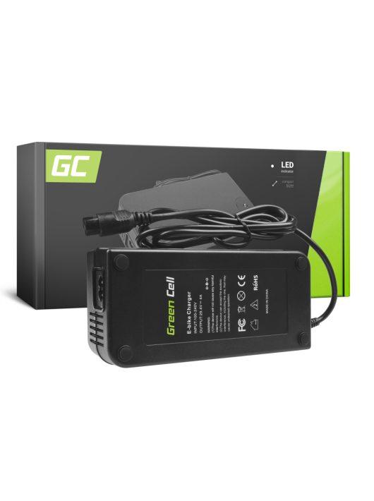 Green Cell 24V Elektromos kerékpár töltő 29.4V 4A (3 pin) akkumulátor / akkuhoz