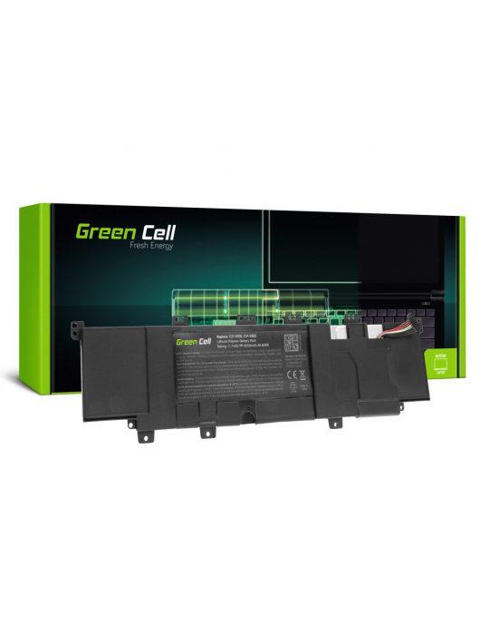 Green Cell Laptop akkumulátor / akku C21-X502 C31-X502 Asus F502C F502CA X502C X502CA VivoBook S500C S500CA ASUSPro Essential PU500C PU500CA