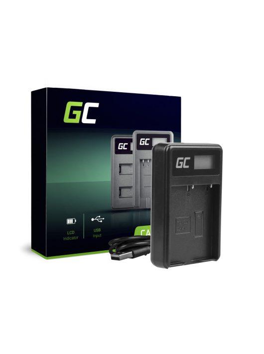 Green Cell Kamera töltő BCH-1 Olympus BLH-1, OM-D E-M1 Mark II, Grip HLD-9