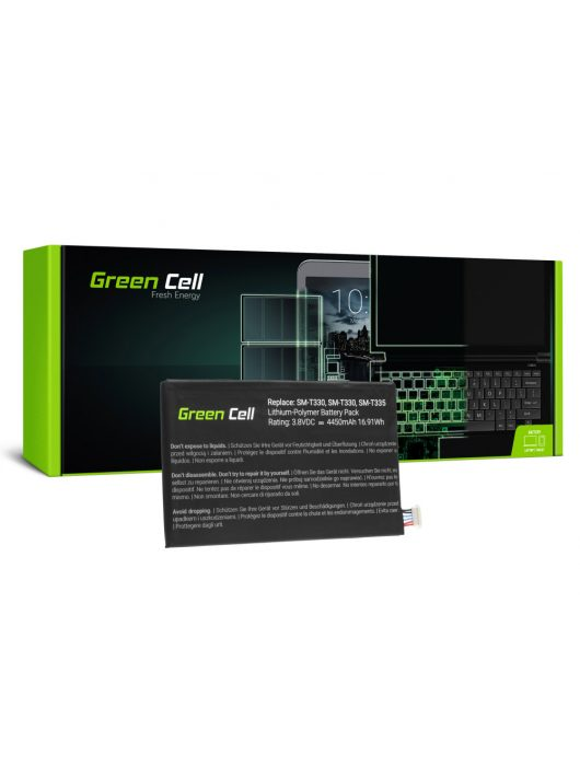 Green Cell akkumulátor / akku EB-BT330FBE Samsung Galaxy Tab 4 8.0 T330 T331 T335