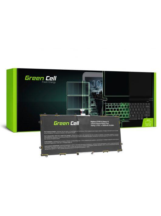 Green Cell akkumulátor / akku SP3496A8H(1S2P) Samsung Google Nexus 10 P8110