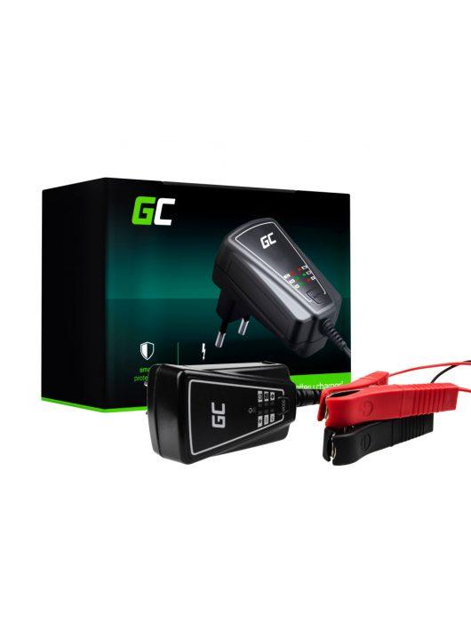 Green Cell akkumulátor / akku töltő 6V / 12V (1A)