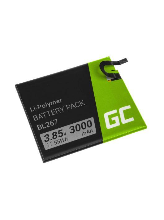 Green Cell Smartphone akkumulátor / akku BL267 Lenovo Vibe K6