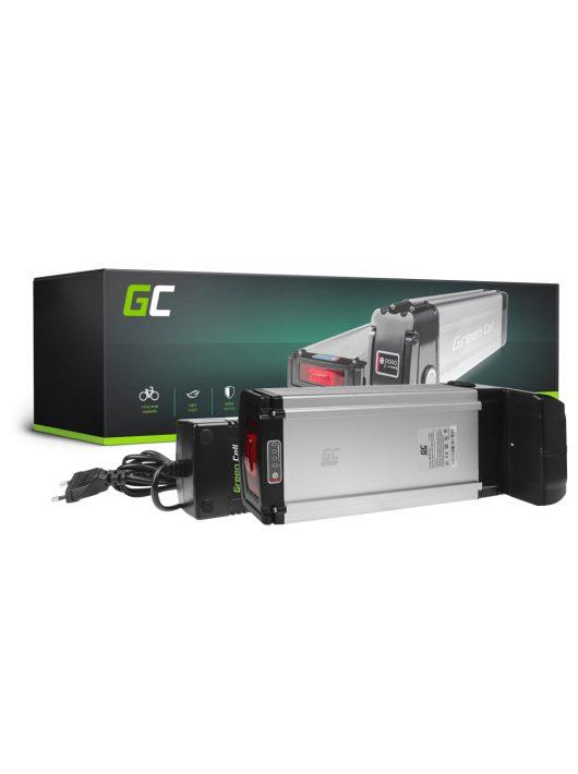Green Cell Elektromos kerékpár akkumulátor / akku 36V 20,3Ah 731Wh E-Bike Pedelec Rear Rack töltővel