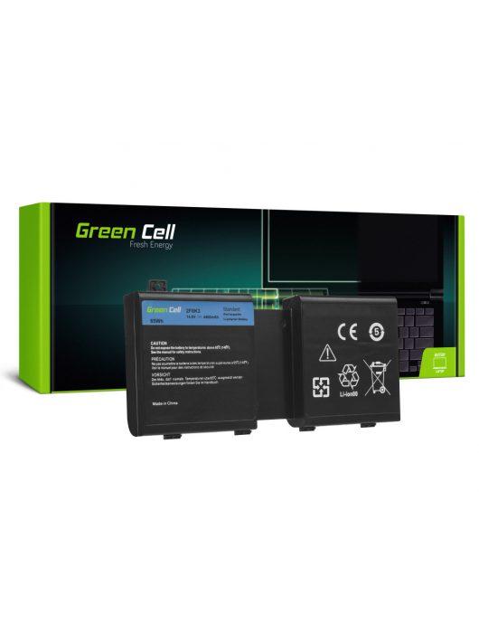 Laptop akkumulátor / akku Dell Alienware 17 18 / 14,4V 4400mAh DE125