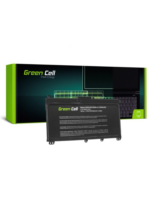 Green Cell Laptop akkumulátor / akku TF03XL HSTNN-LB7X 920046-421 920070-855 HP 14-BP Pavilion 14-BF 14-BK 15-CC 15-CD 15-CK 17-AR