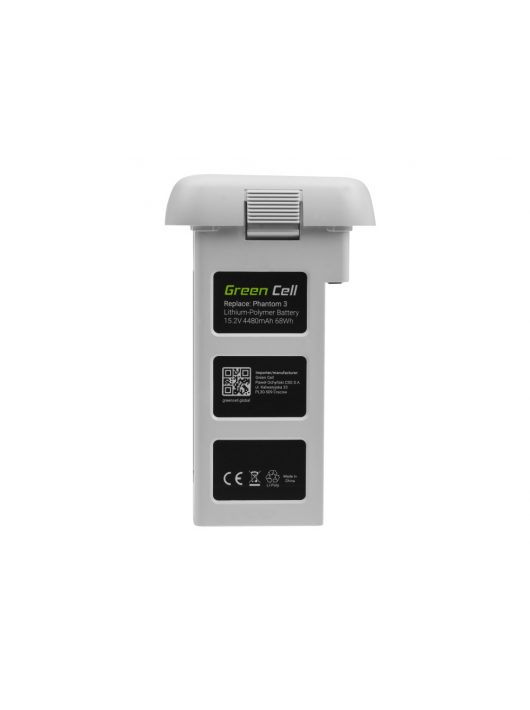 Green Cell Drón akkumulátor / akku DJI Phantom 3 15.2V 4480mAh 68Wh