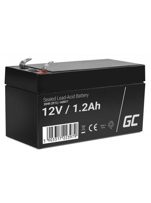 Green Cell AGM akkumulátor / akku VRLA 12V 1.2 Ah