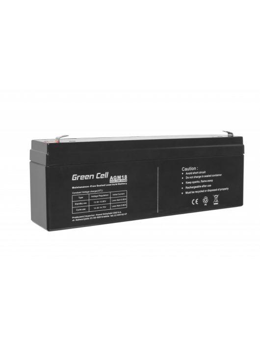 AGM akkumulátor / akku VRLA 12V 2.3 Ah AGM18