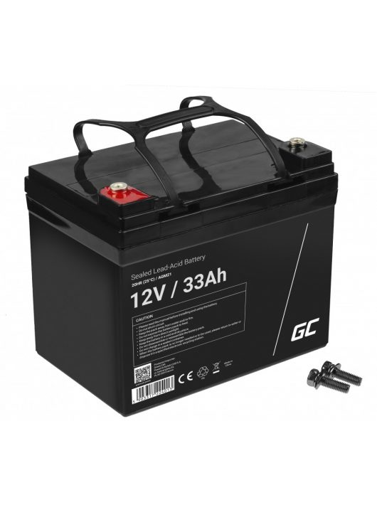 Green Cell AGM akkumulátor / akku VRLA 12V 33 Ah