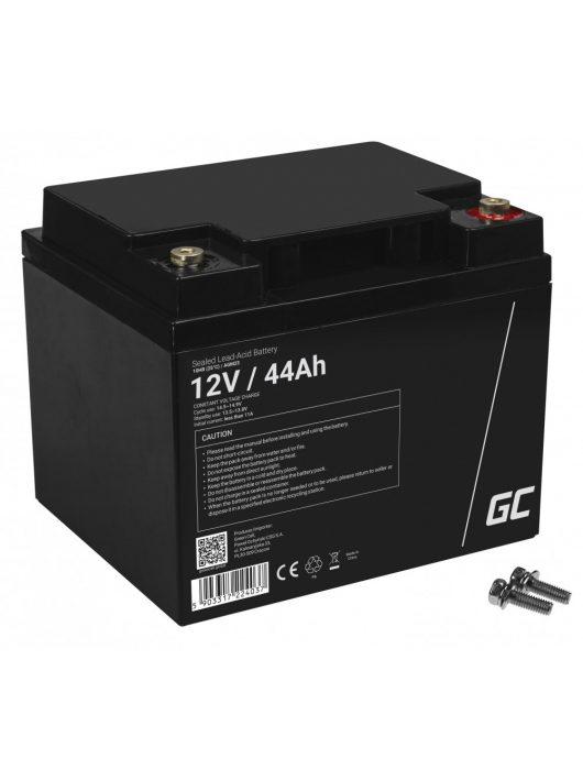 Green Cell AGM akkumulátor / akku VRLA 12V 44 Ah