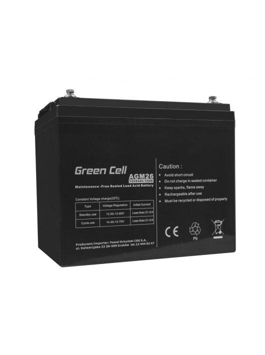 Green Cell AGM akkumulátor / akku VRLA 12V 84 Ah