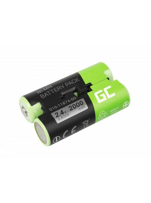 Green Cell GPS akkumulátor / akku 010-11874-00 Garmin Astro 430 Oregon 600 700 750T GPSMAP 64 64s Striker 4