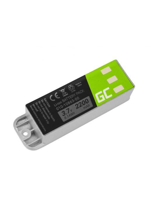 Green Cell GPS akkumulátor / akku 010-10863-00 Garmin Zumo 400 450 500
