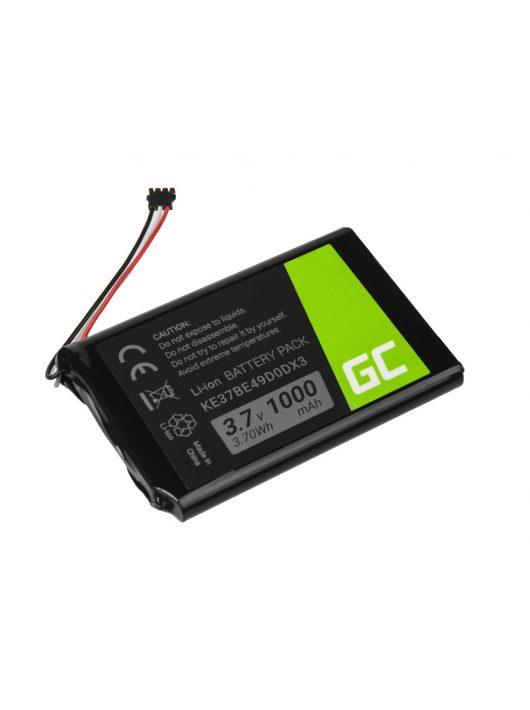 Green Cell GPS akkumulátor / akku KE37BE49D0DX3 361-00035-00 Garmin Edge 800 810 Nuvi 1200 2300 2595LM