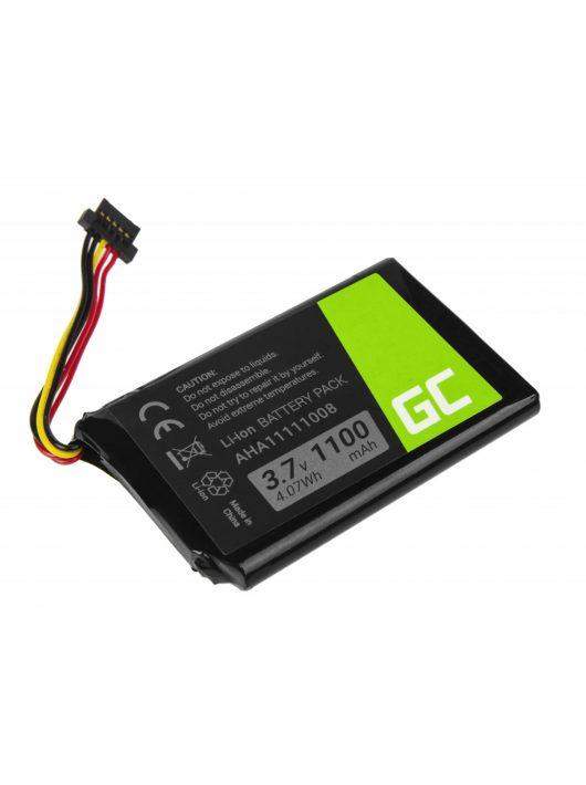 Green Cell GPS akkumulátor / akku AHA11111008 TomTom 4FL50 Go 5100 6100 PRO TRUCK 5250