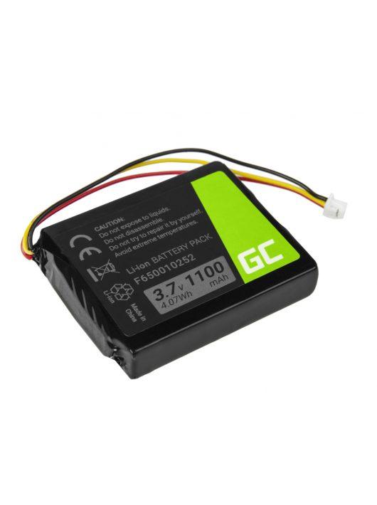 Green Cell GPS akkumulátor / akku F650010252 TomTom One V1 V2 V3 XL Europe Regional Rider