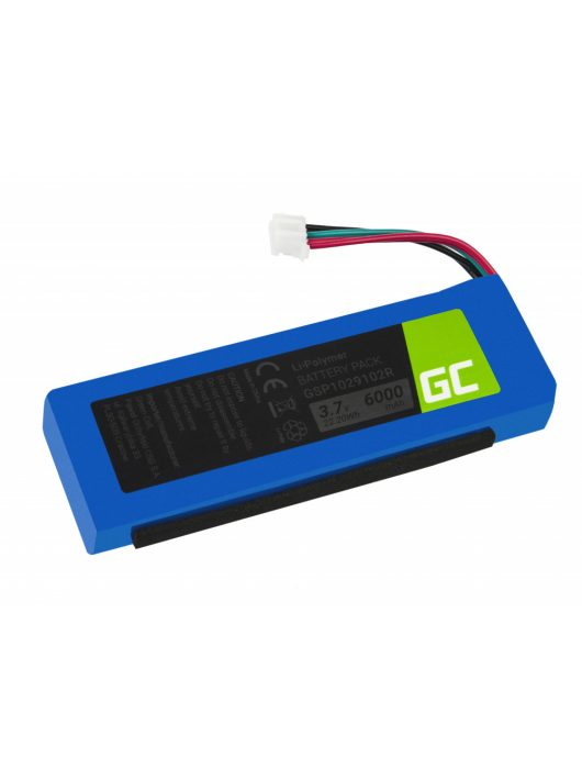 Green Cell akkumulátor / akku JBL Charge 2, 2+, 3
