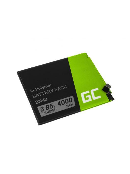 Green Cell Telefon akkumulátor / akku BN43 Xiaomi Redmi Note 4X