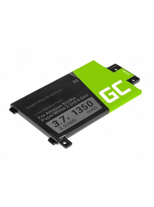 Green Cell E-Book akkumulátor / akku 58-000049 Amazon Kindle Paperwhite II 2013 és Amazon Kindle Paperwhite III 2015
