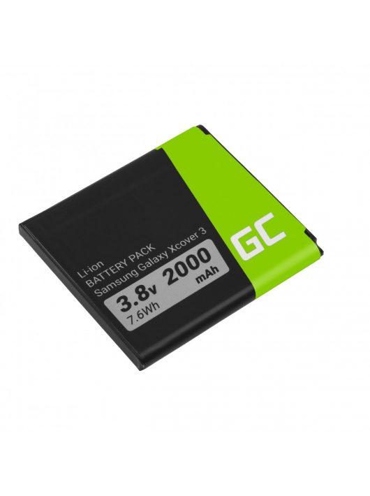 Green Cell EB-BG388BBE Smartphone akkumulátor / akku Samsung Galaxy xCover 3 G388F G389F
