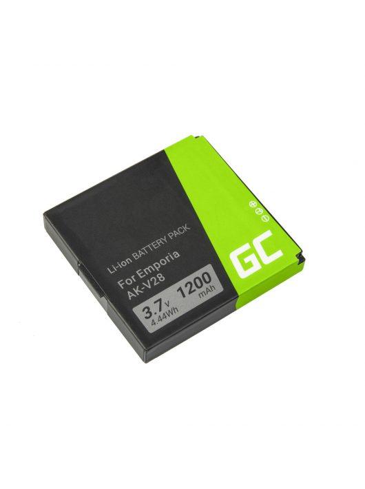 Green Cell Telefon akkumulátor / akku AK-V28 AK-V29 Emporia Talk Plus Premium