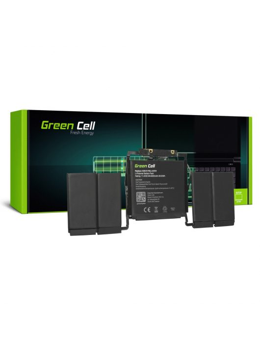 Green Cell Laptop akkumulátor / akku A1819 Apple MacBook Pro 13 A1706 Touch Bar (Late 2016, Mid 2017)
