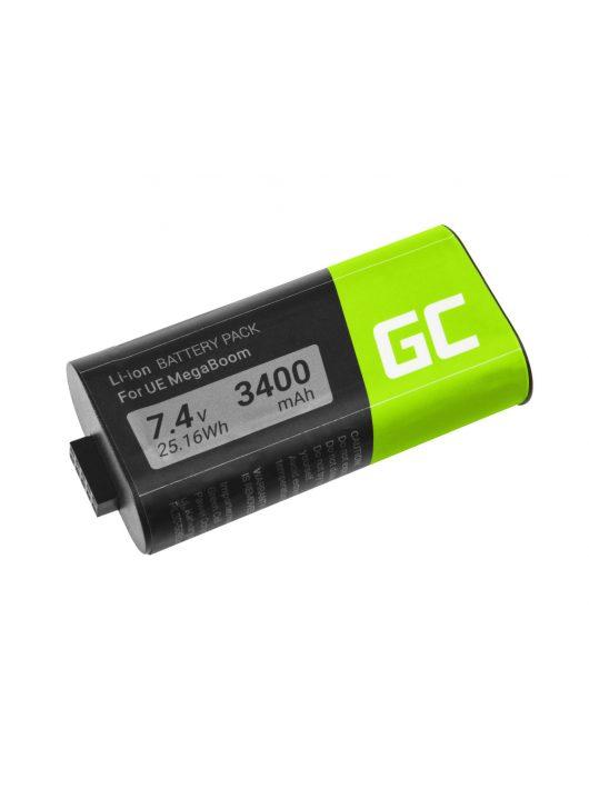 Green Cell hangszóró akkumulátor / akku 533-000116 533-000138 Logitech Ultimate Ears UE MEGABOOM S-00147