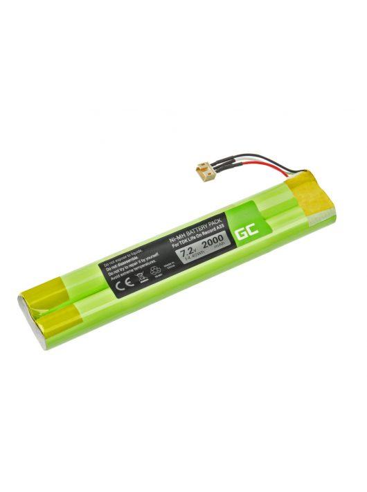 Green Cell akkumulátor / akku EU-BT00003000-B TDK Life On Record A33 A34 TREK Max