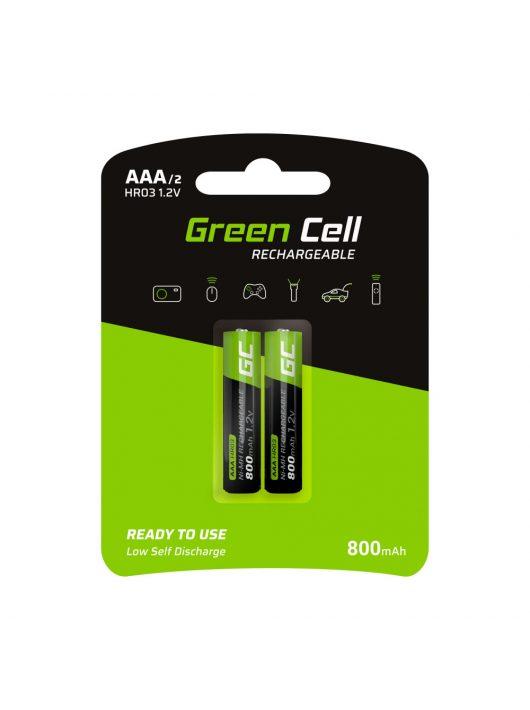 Green Cell 2x akkumulátor / akku AAA HR03 800mAh