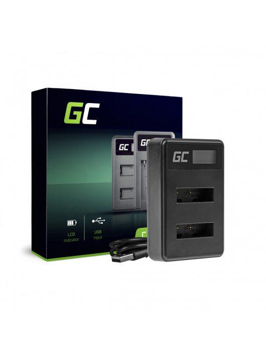 Green Cell hálózati töltő BC-TRX Sony Action Cam HDR-AS10 HDR-AS20 HDR-AS300 HDR-AS50 FDR-X1000V DSC-H400