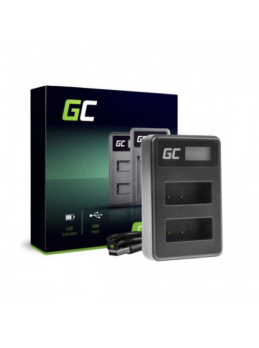 Green Cell hálózati töltő LC-E17 Canon LP-E17, EOS 77D, 750D, 760D, 8000D, M3, M5, M6, Rebel T6i, Rebel T6s