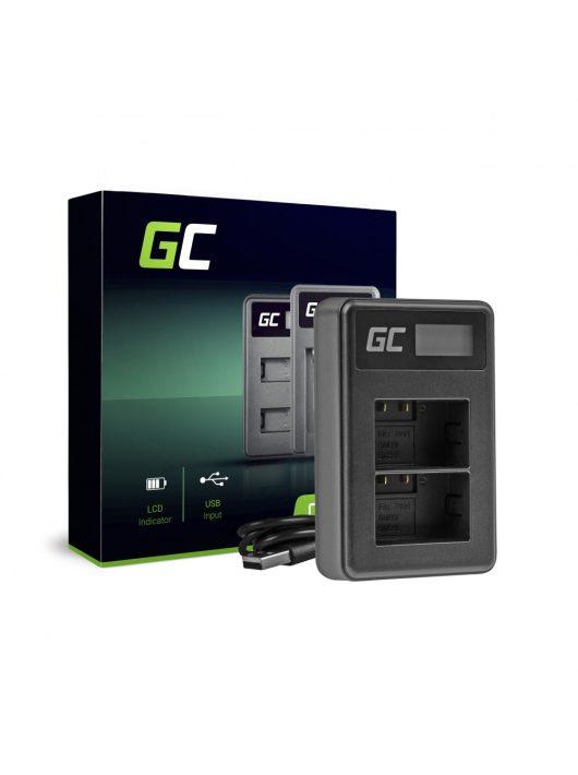 Green Cell hálózati töltő DE-A83, DE-A84 Panasonic DMW-MBM9, Lumix DMC-FZ70, DMC-FZ60, DMC-FZ100, DMC-FZ40, DMC-FZ47