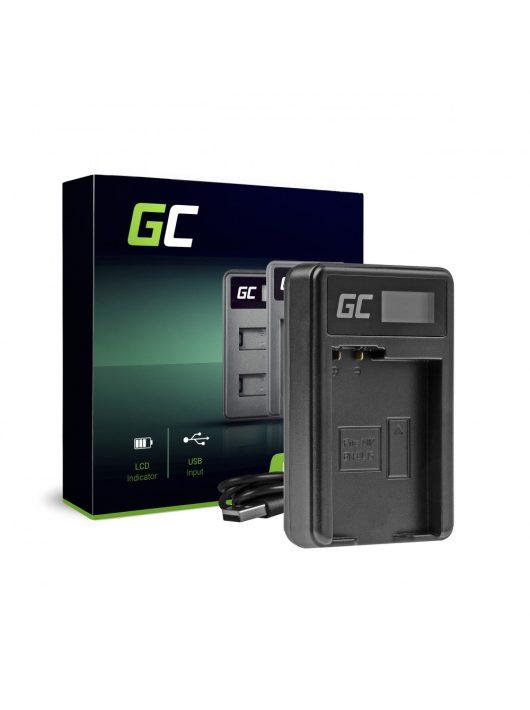 Green Cell hálózati töltő MH-25 Nikon EN-EL15 D850 D810 D800 D750 D7500 D7200 D7100 D610 D600
