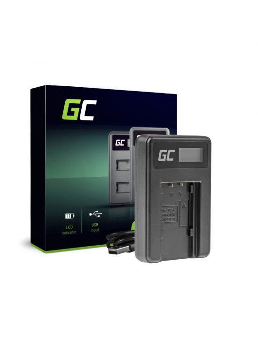 Green Cell hálózati töltő VW-BC10 Panasonic VW?VBT190 HC-250 HC-V130 HC-V510 HC-V770 HC-W580 HC-WX970