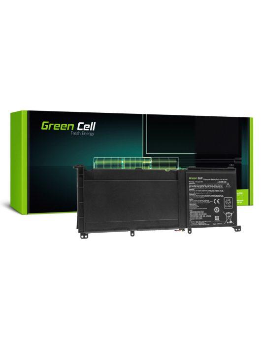 Pro Laptop akkumulátor / akku C41N1416 Asus G501J G501JW G501V G501VW Asus ZenBook Pro UX501 UX501J UX501JW UX501V UX501VW / 15,2V 3950 AS130