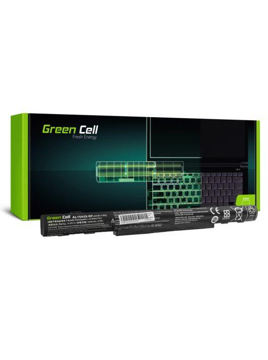 Green Cell Laptop akkumulátor / akku AL15A32 Acer Aspire E5-573 E5-573G E5-573TG V3-574 V3-574G TravelMate P277 / 14,8V 1800mAh
