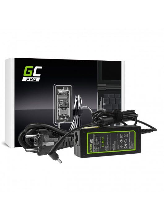 Green Cell PRO Töltő 19V 3.42A 65W Asus F553 F553M F553MA R540L R540S X540S X553 X553M X553MA ZenBook UX303L