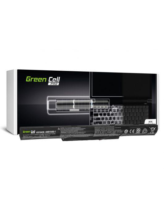 Green Cell Pro Laptop akkumulátor / akku AS16A5K Acer Aspire E15 E5-553 E5-553G E5-575 E5-575G F15 F5-573 F5-573G / 14,6V 2600mAh