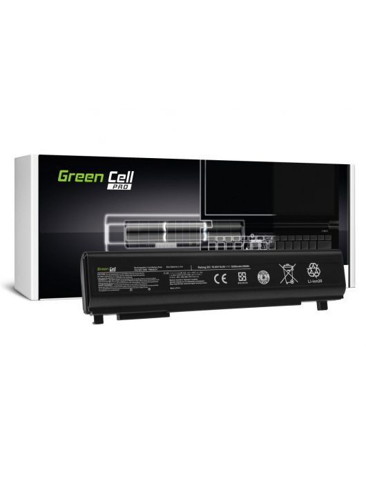 Green Cell Pro Laptop akkumulátor / akku PA5162U-1BRS  Toshiba Portege R30 R30-A R30-A-134 R30-A-14K R30-A-17K R30-A-15D R30-A-1C5