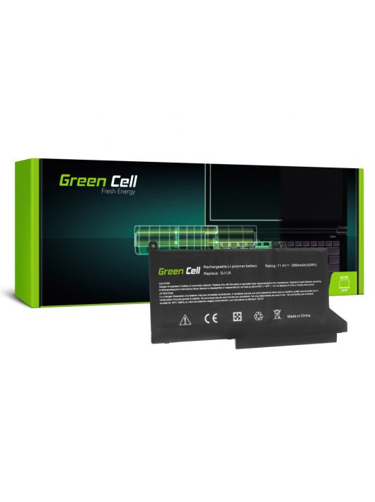 Green Cell Laptop akkumulátor / akku DJ1J0 Dell Latitude 7280 7290 7380 7390 7480 7490