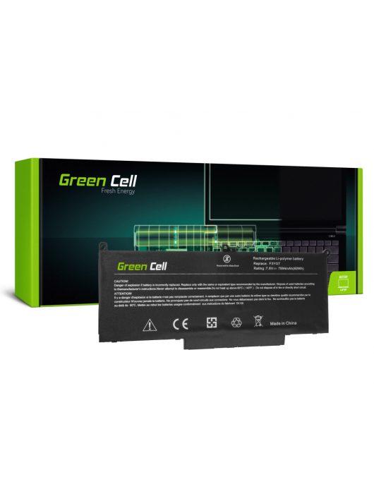 Green Cell Laptop akkumulátor / akku F3YGT Dell Latitude 7280 7290 7380 7390 7480 7490