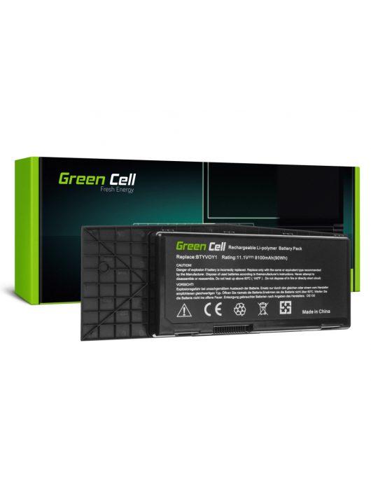 Laptop akkumulátor / akku BTYVOY1 Dell Alienware M17x R3 M17x R4 DE130